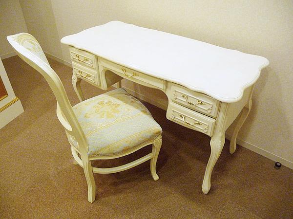 【Fiore】ロココ調白家具