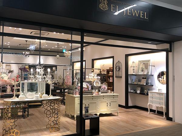 EL JEWEL(エルジュエル)ららぽーと立川立飛店 店舗入り口