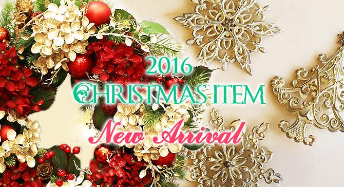 2016年新作クリスマスアイテム