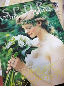 シュプール9月号別冊「シュプール・ホワイトウエディング」に、 EL☆JEWELLのシャンデリアをご利用いただいているお客様が掲載されました。
